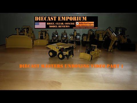 Diecast Masters NEW Caterpillar Models Unboxing Part 1