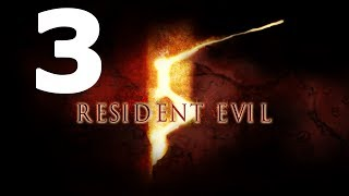 Resident Evil 5 Walkthrough Part 3 - No Commentary Playthrough (Xbox 360/PS3)