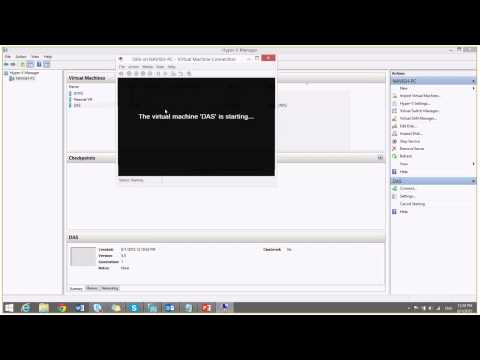 Creating Virtual Machine Using Hyper V Manager And Installing Windows Server 2012 R2