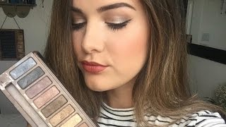 Everyday Makeup Tutorial   Naked Palette