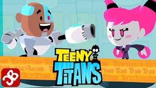 Teeny Titans - Cyborg VS JINX - iOS / Android - Gameplay Video