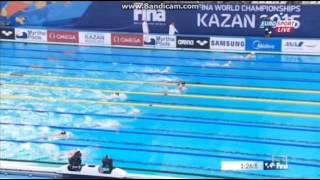 БАЛАНДИН  четвертьфинал 200м Брасс  ЧМ   2015
