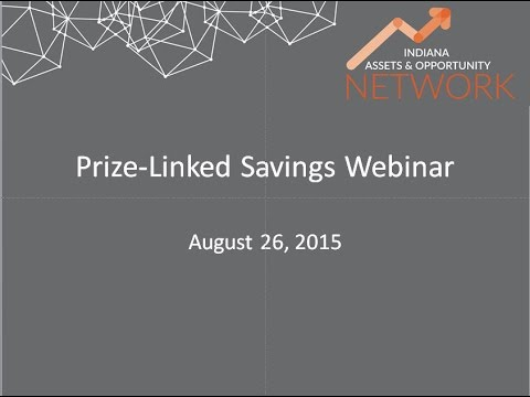 Financial Stability - Prize-Linked Savings as an Asset-Building Tool