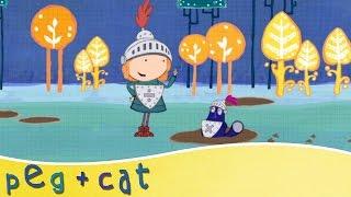 peg cat singing in the rain song