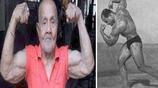 103 year old Bodybuilder known as 'Pocket Hercules' still ripped and was India's First Mr.Universe