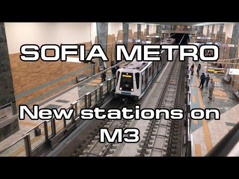 Sofia Metro - The newest stations on M3 / Софийското метро - новите станции от МД 3