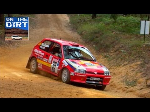 Rally Action Detomaso Charade Australian Rally Championship 2002