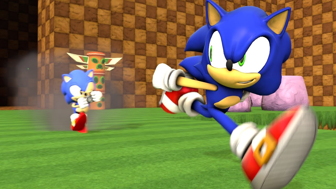 It's just a picture of Refreshing Images of Sonic