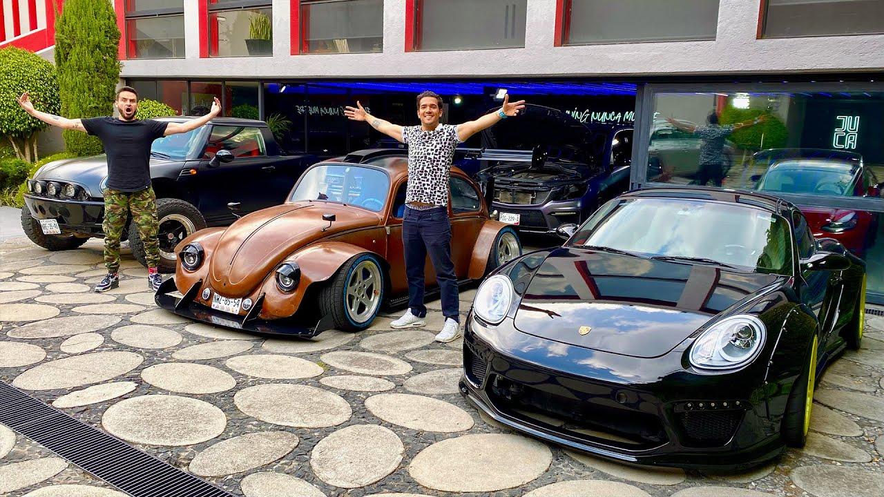 Garage Tour con JUCA y sus creaciones!! *arruine la sorpresa* | Salomondrin