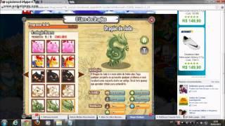 Livro dos Dragões completo e detalhes da ilha egípsiae uma lutinha)