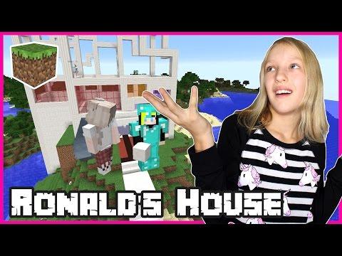 Ronald's Amazing House / Minecraft