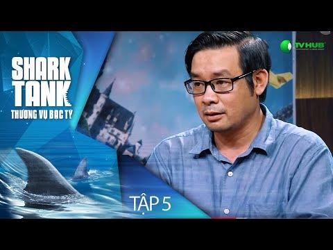 [FULL] SHARK TANK VIỆT NAM - TẬP 5 | Tiến sỹ công nghệ hàng không gọi vốn 27 tỷ | VTV 3