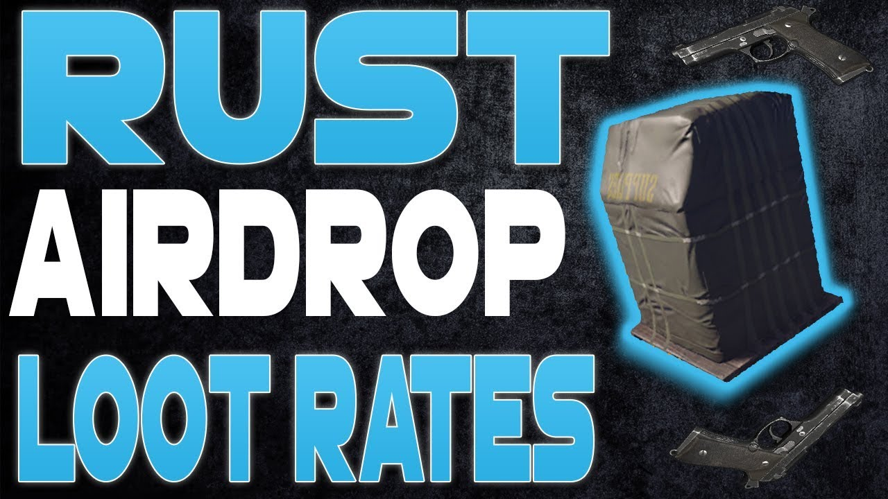 Rust Airdrop Loot Items and Percentages - Rust Looting Guide (Rust Tips)