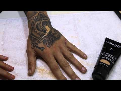 HOW TO: TATTOO Coverage with Dermablend