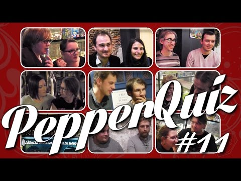 PepperQuiz - Doctor Who - QUI EST-CE ? (NewWho)