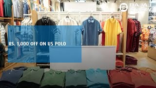 Rs. 1,000 off on US Polo   Bajaj Finserv RBL Bank SuperCard