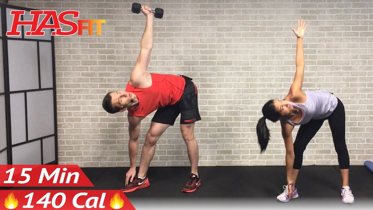 15 Min Abs and Obliques Workout Exercises for a Smaller ...Oblique Exercises