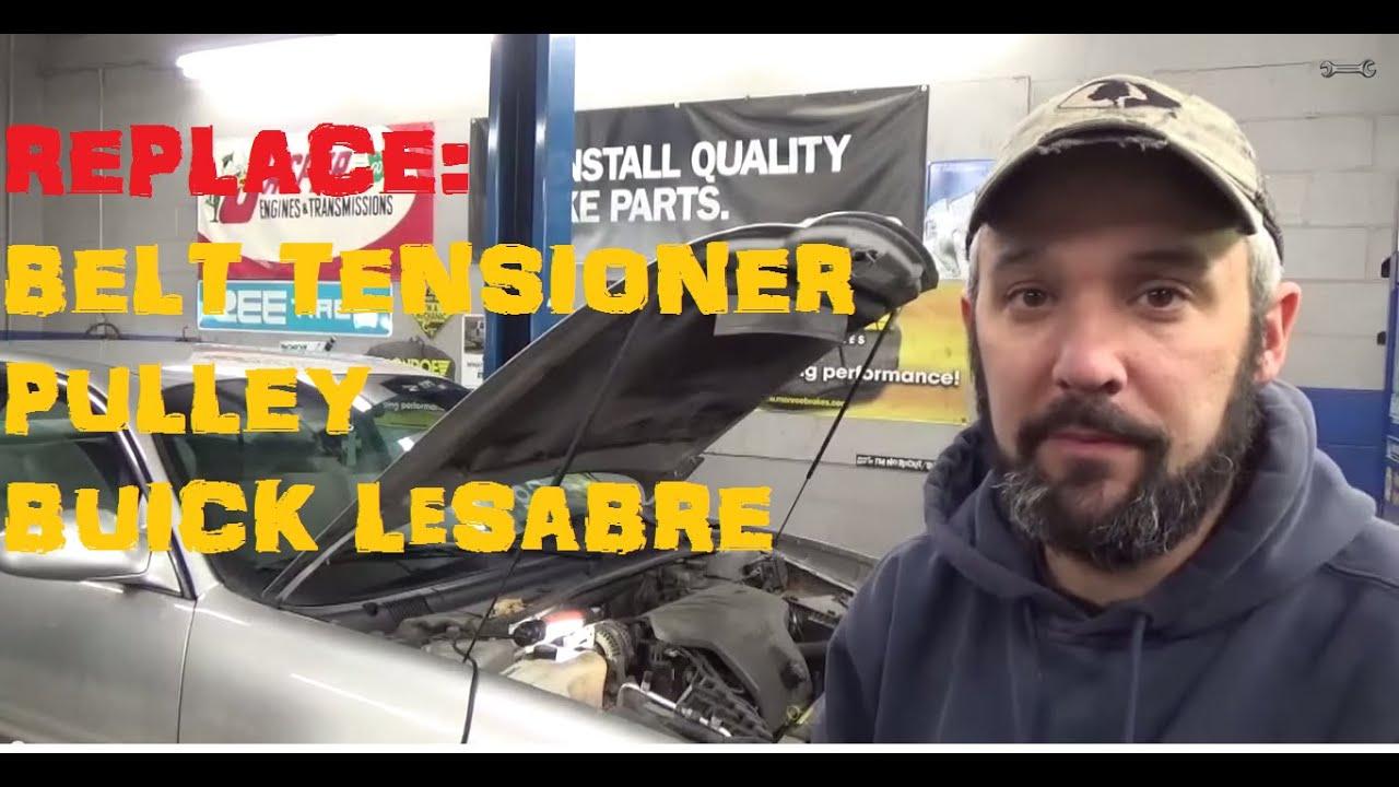 Seized Belt Tensioner Pulley Buick Lesabre Youtube Oldsmobile Timing