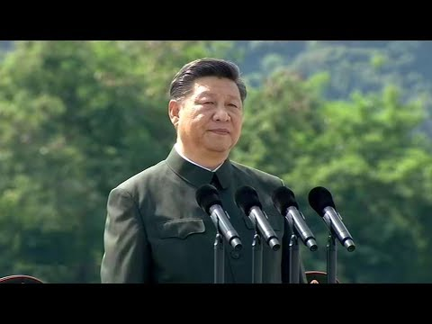 President Xi inspects PLA Garrison in Hong Kong SAR