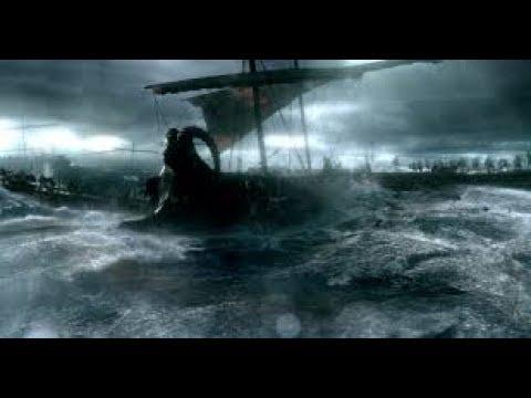 300_rise_of_an_empire  Greek fleet crushes persians ships
