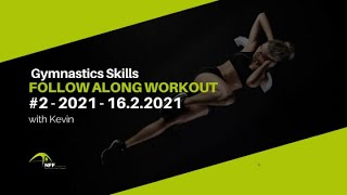 Gymnastic Skills - Follow along Home Workout #2
