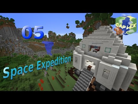 Space Expedition 05 - Jetpack and Mesa Treasures ~ Minecraft Survival Map Let's Play/Guide