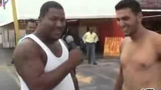 Repeat youtube video Kimbo slice destroy 2 guys