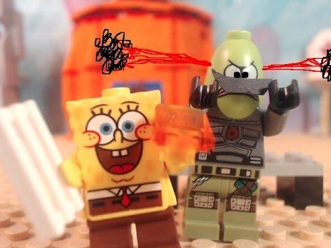 Lego Spongebob Spongebob Meets The Strangler Youtube