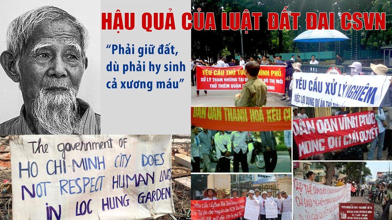 Phạm Minh Hoàng: Luật đất đai sẽ còn gây ra nhiều thảm cảnh Đồng Tâm