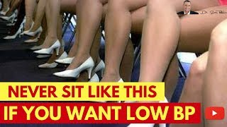 🌡 Never Sit Like This Because It'll Increase Your Blood Pressure - by Dr Sam Robbins