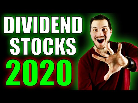 5 Great Dividend Stocks for 2020 and Beyond! Dividend Investing 2020!