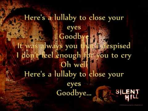 Silent Hill-Room of Angel (w/lyrics)