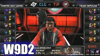 CLG vs Team Impulse   S5 NA LCS Spring 2015 Week 9 Day 2   CLG vs TIP W9D2G5 VOD 60FPS