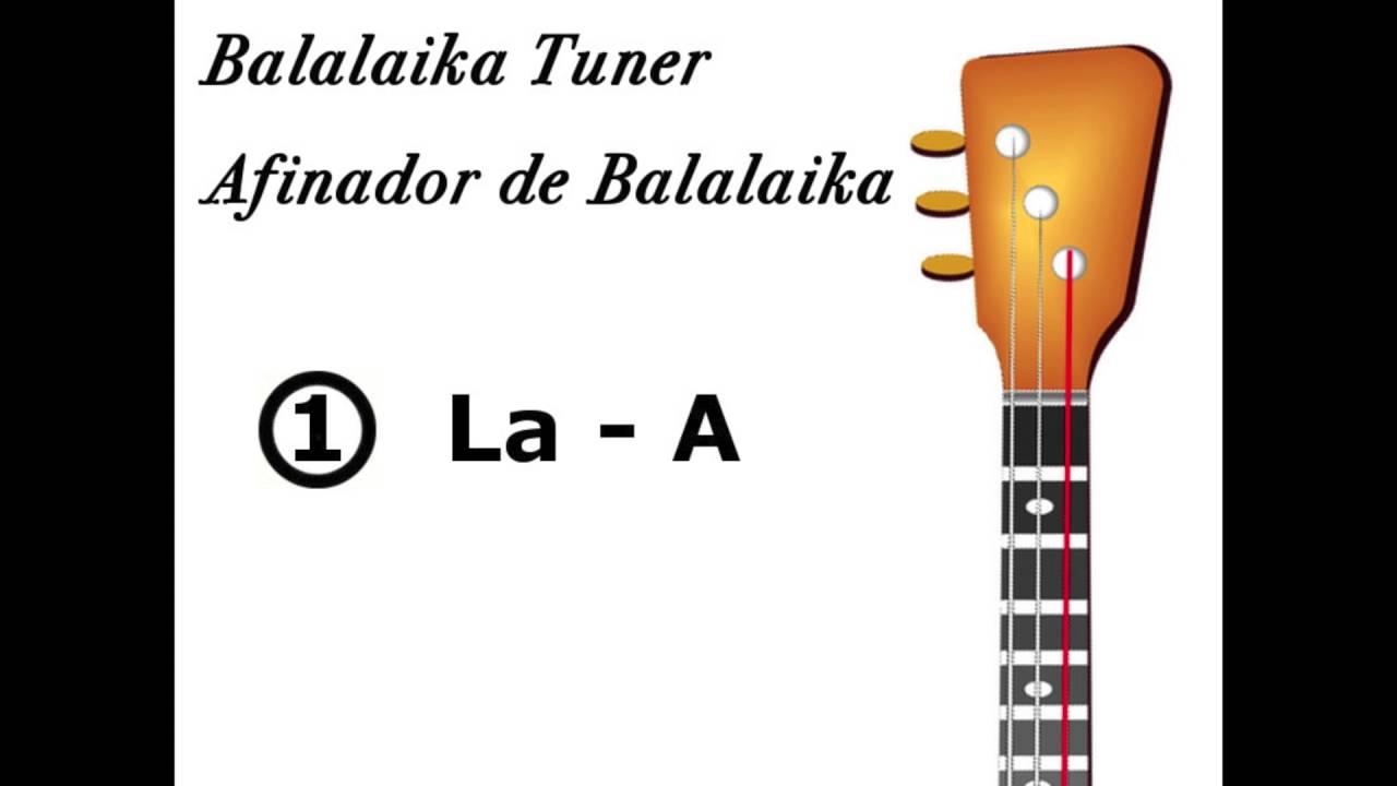 Balalaika Prima Tuner   Afinador de Balalaika Prima