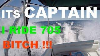 30 captain i ride 705 crossing georgian bay 170 mile boat ride