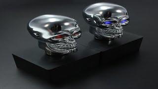 skull gear stick