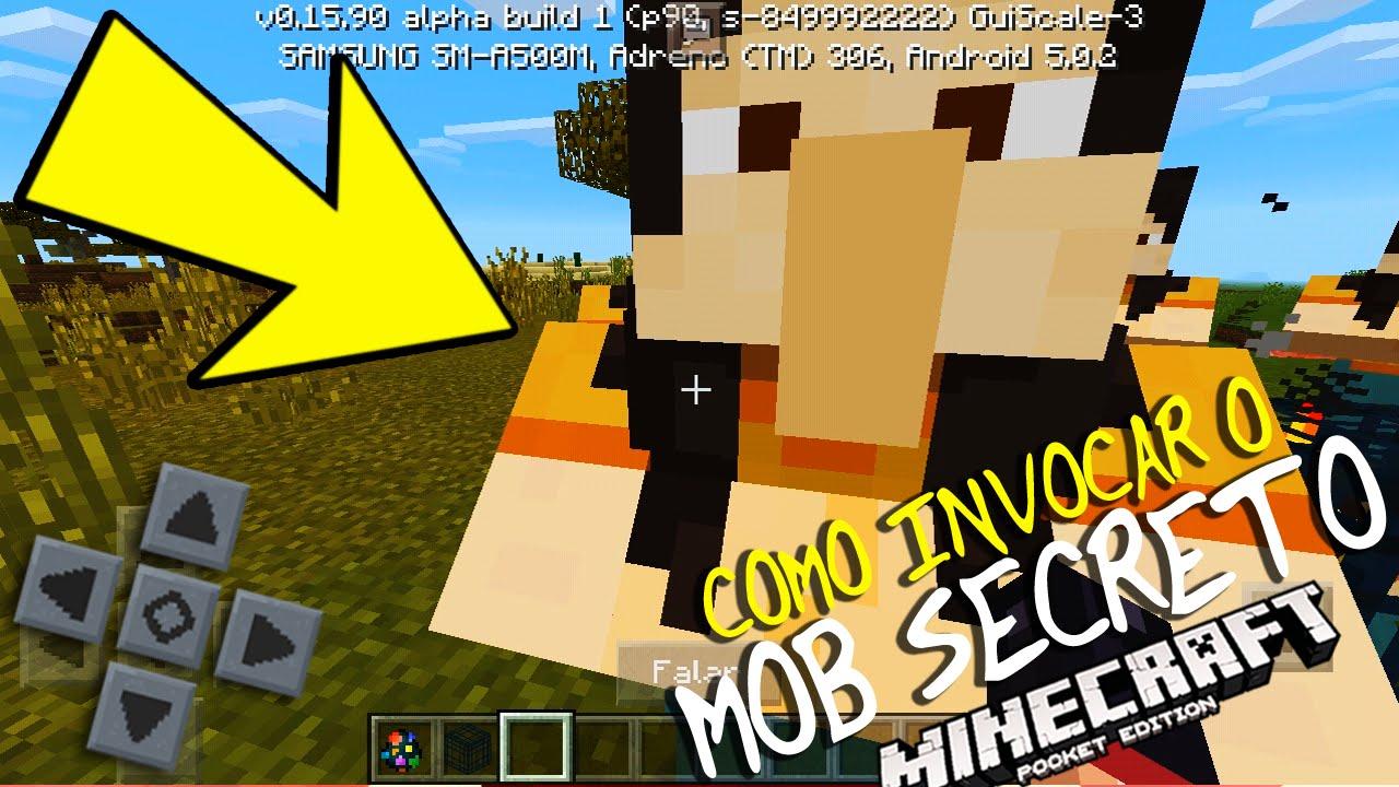 Download MINECRAFT PE - COMO INVOCAR O MOB SECRETO!