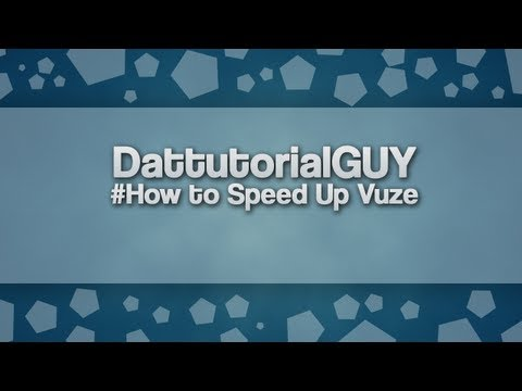 How To Speed Up Vuze