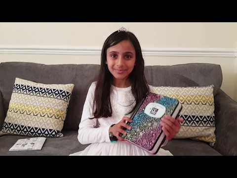 Unboxing Project Mc2 Addisn Note Book!