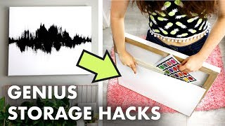 5 Hidden Storage Hacks for Small Spaces - Small Spaces Week 2019 - HGTV Handmade