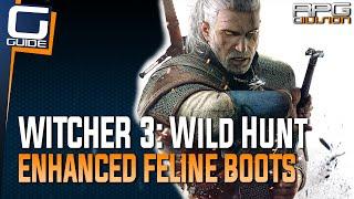 Witcher 3: The Wild Hunt - Enhanced Feline Boots Diagram Location (Cat School Gear)