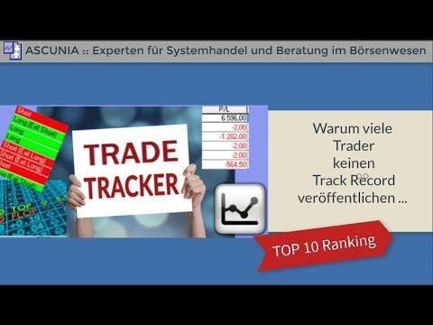 Trading :: Warum viele Trader keinen Track Record veröffentlichen