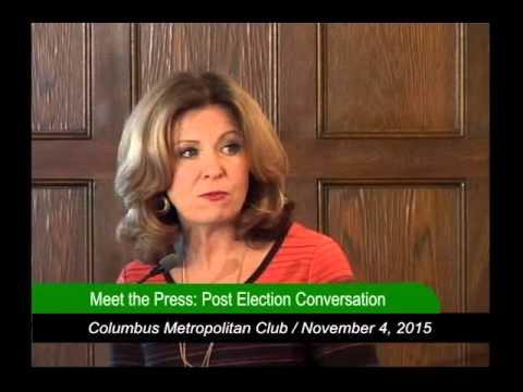 Columbus Metropolitan Club:  Meet the Press - Post Election Conversation  11/4/15