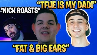 *HILARIOUS* NICKMERCS ROASTS Cloakzy & CourageJD On Stream Fortnite Moments Highlights