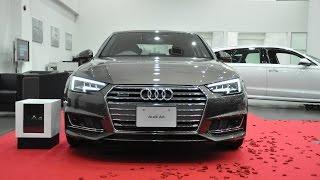 【New Audi A4 インテリア ご説明】新型 アウディ A4 内装 フルモデルチェンジ
