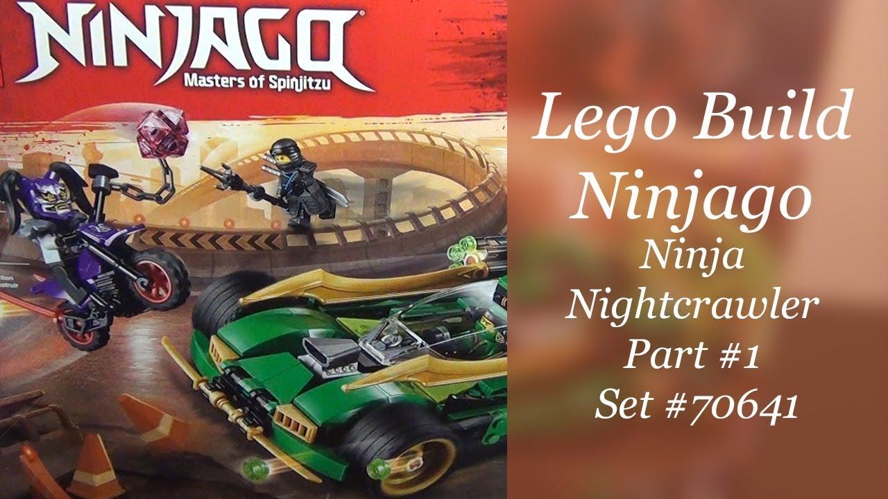 Lego Ninjago Build Ninja Nightcrawler Set 70641 Part 1 Youtube
