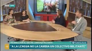 Karina Galperín en LN+