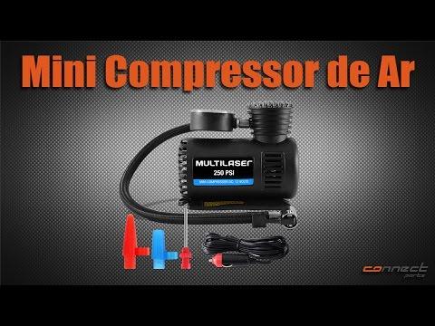 Mini Compressor de Ar Multilaser - Connect Parts
