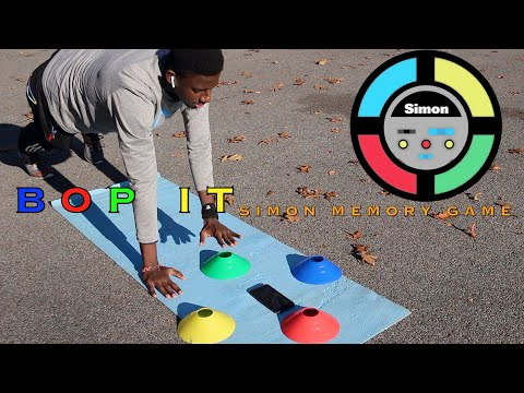 Simon memory game fitness | how good is your memory? | PE