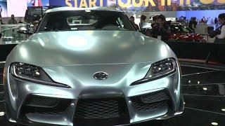 Tariffs in spotlight at Detroit auto show